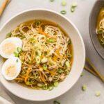 Receta de Ramen casero una sopa japonesa deliciosa y re confortable