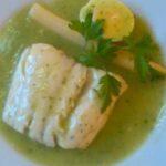 Merluza a la vasca o Merluza en salsa verde Receta tradicional: