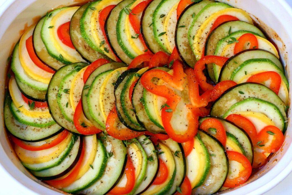 Ratatouille verduras al horno