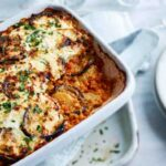 Receta de musaka o moussaka vegetariana fácil y rapida